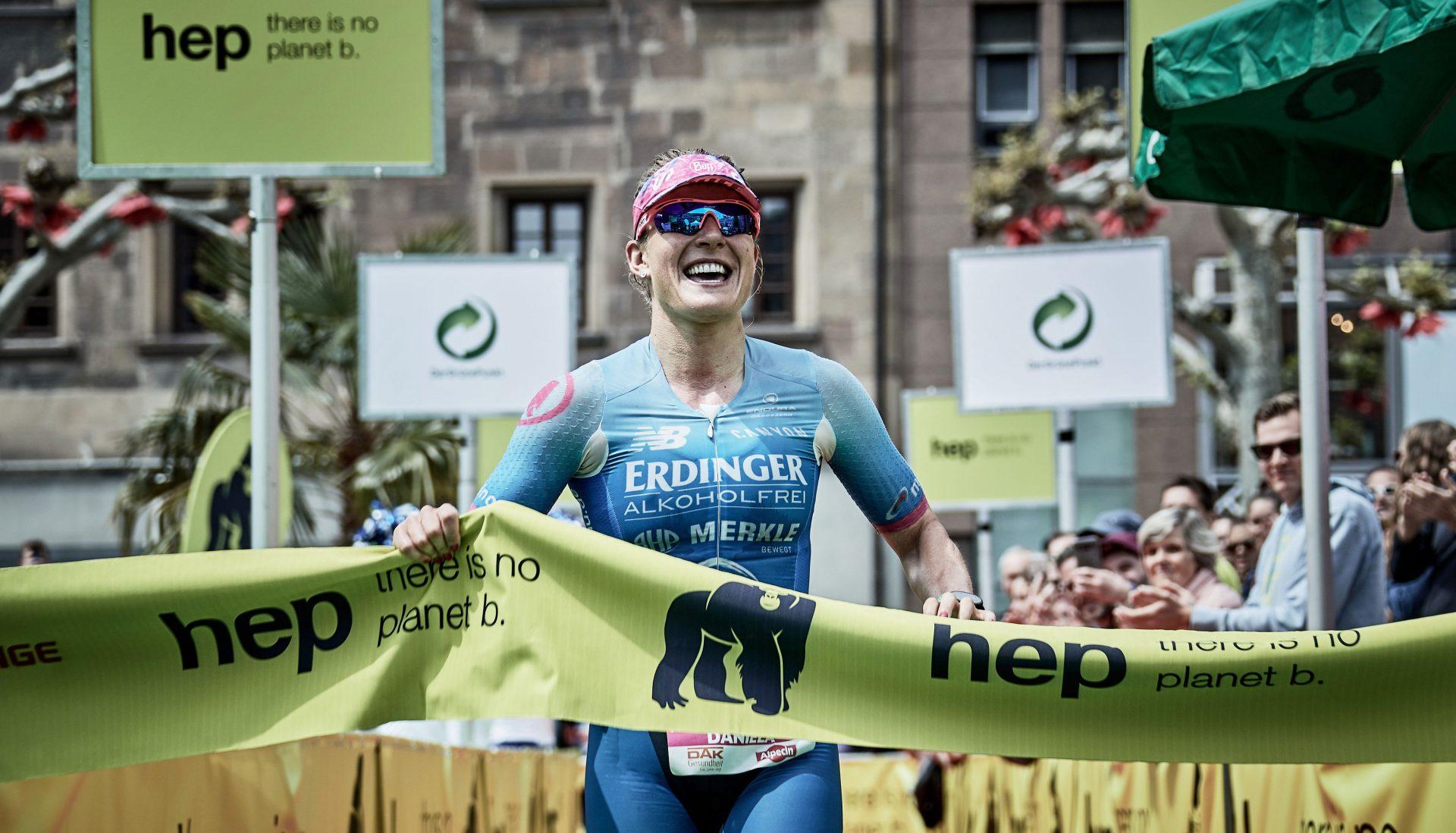 Daniela Bleymehl gewinnt die Challenge Heilbronn 2019