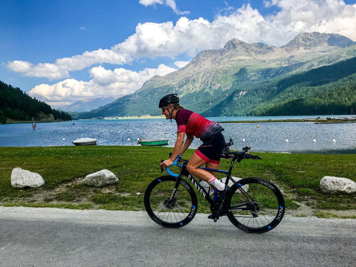 Daniela Bleymehl startet beim Ironman 70.3 Zell am See