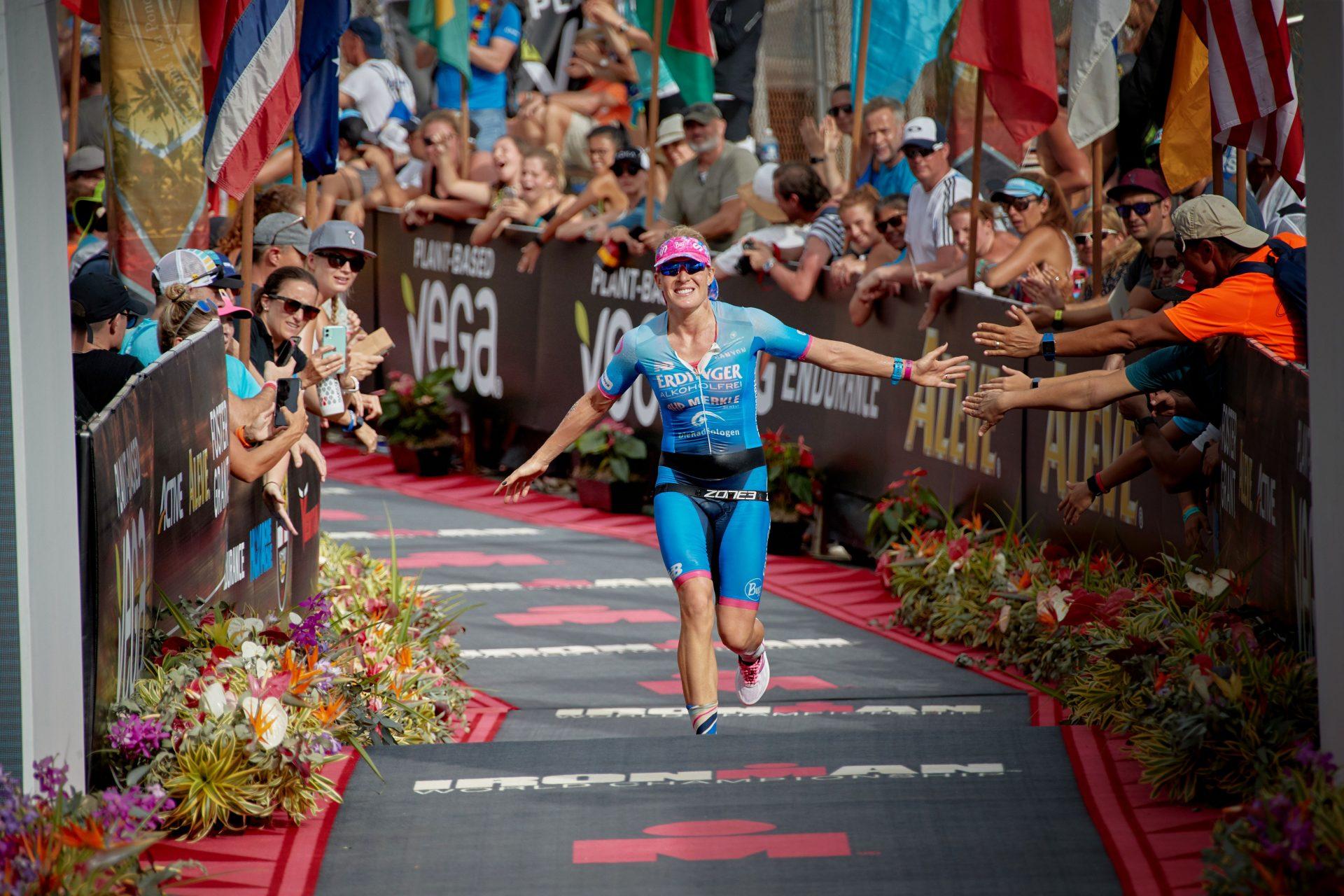 Daniela Bleymehl erreichtbei der Ironman Weltmeisterschaft Platz 9
