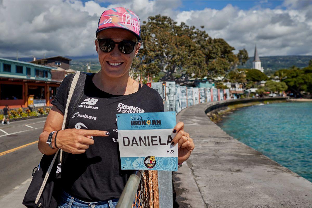 Daniela Bleymehl gibt sich vor ihrem Start auf Hawaii optimistisch